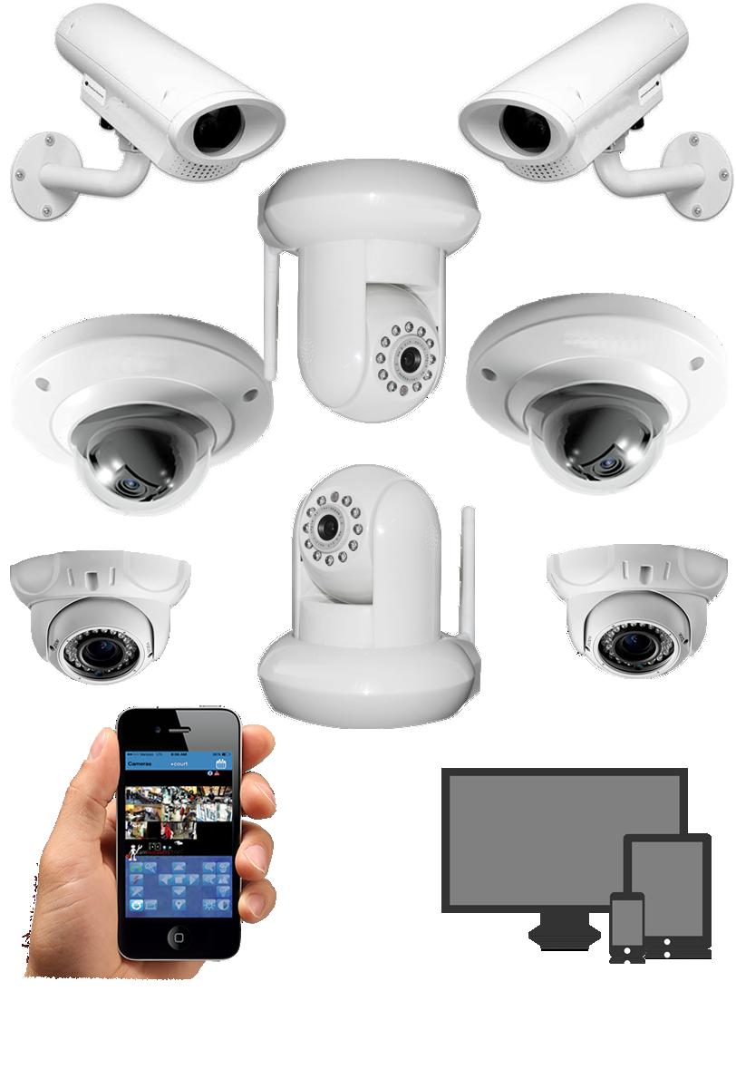 Cameras de video vigilancia lock automatismos para - Camera de vigilancia ...