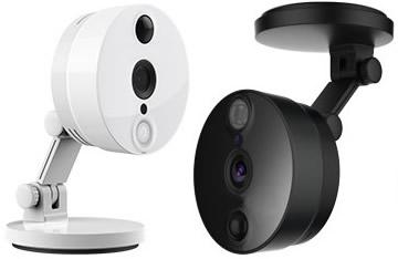 Camera IP Interior fixa ou móvel FSC2, 2 Megapixel